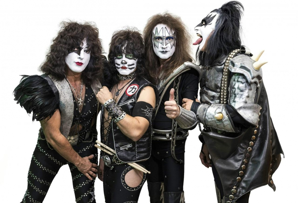kiss forweber band